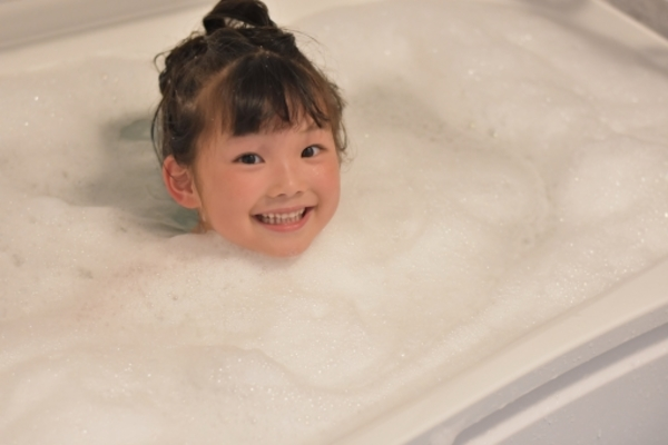 やっぱりお風呂が一番!